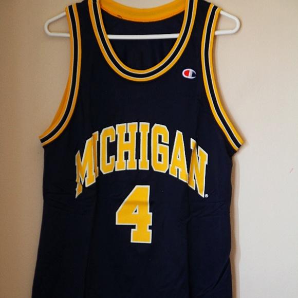 eaed627c343 Champion Shirts | Champiion Michigan Jersey | Poshmark